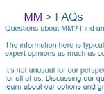 FAQ Page of Moderation Management
