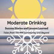 Moderate Drinking Book cover with stylized image of sun and snowflake